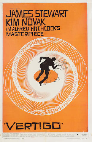 Vertigo 1958 US One Sheet