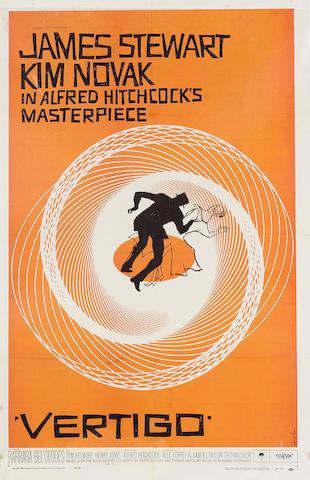 Vertigo 1958 US One Sheet