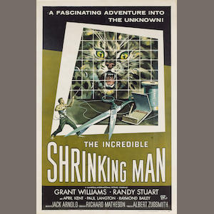 Incredible Shrinking Man, The 1957 US One Sheet