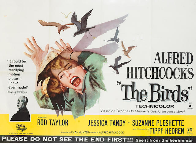 Birds, The 1963 UK Quad