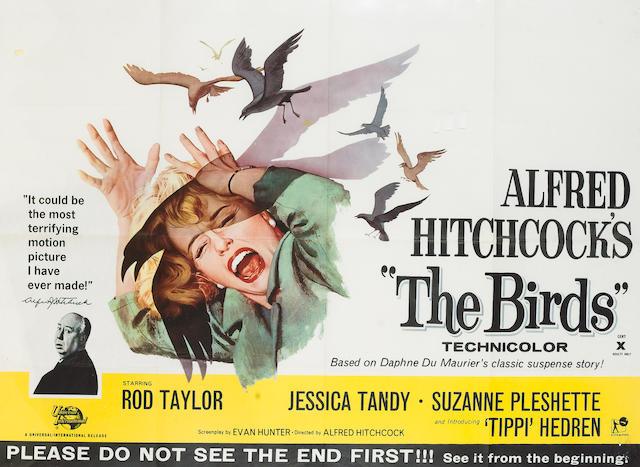 Birds, The 1963 UK Quad