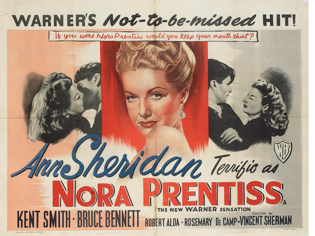 Nora Prentiss, 1947 UK Quad