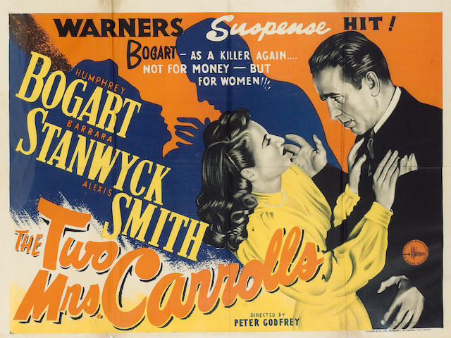 The Two Mrs. Carrolls, Warner Bros., 1947,