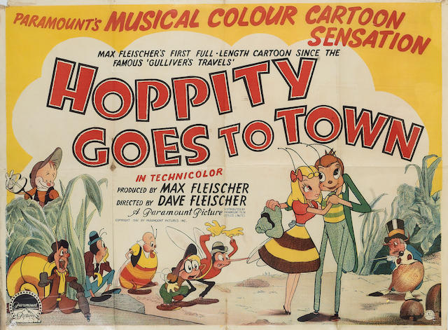 Hoppity Goes to Town, 1941 UK Quad