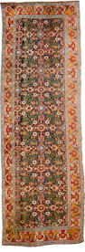 A Bidjar runner Persian Kurdistn, 13 ft 5 in x 4 ft 6 in (410 x 137 cm) some wear