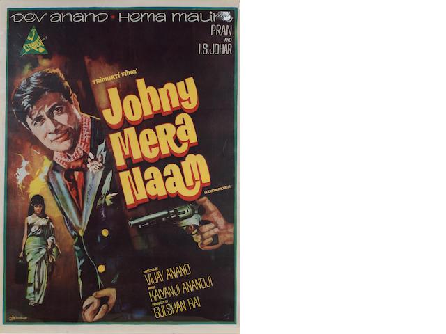 Johnny Meera Naam 1970 Indian Cinema Poster
