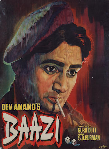 Baazi 1951 Indian Cinema Poster