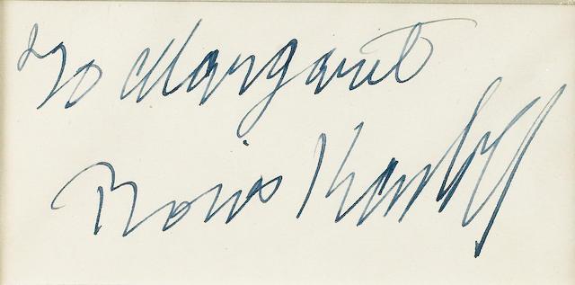Frankenstien 1931 Autographs