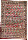 A Mashed carpet North East Persia, 17 ft 1 in x 11 ft 8 in (520 x 356 cm) some damage