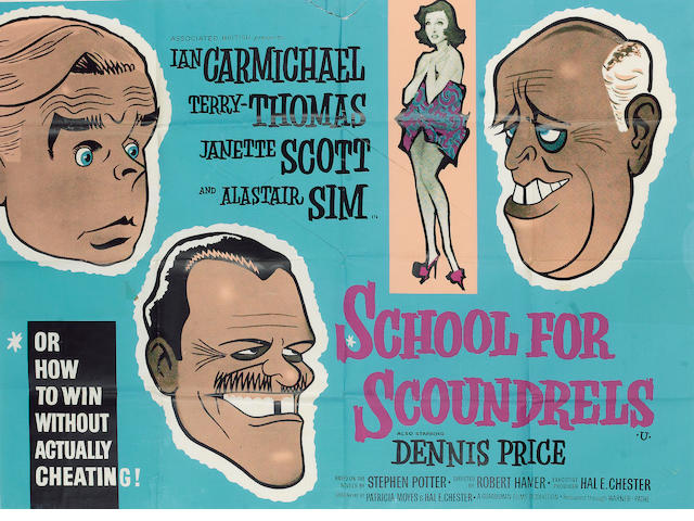British Comedy School for Scoundrels and The Rebel