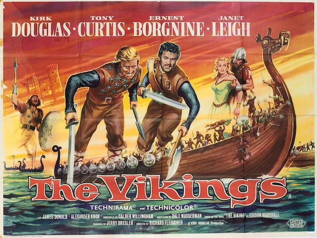 Vikings, The 1958 UK Quad