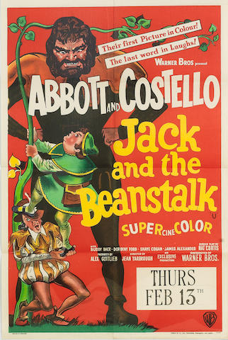 Abbot and Costello: Jack and the Beanstalk, Warner Bros., 1952,