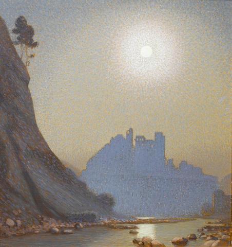 Sir Claude Francis Barry R.B.A. (1883-1970) Dolce Aqua 75 x 71.5 cm. (29 1/2 x 28 1/8 in.)