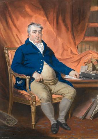 Charles James Fox (1749-1806)Portrait by John Raphael Smith (British, 1752-1812)
