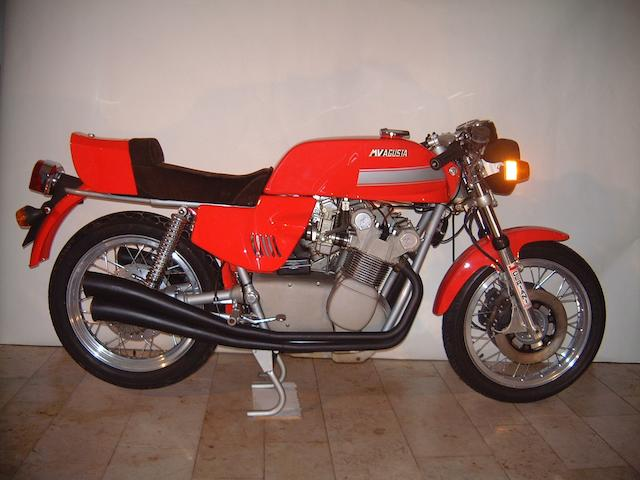 46 kilometres from new,c.1977 MV Agusta 750S America