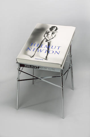 Helmut Newton (German, 1920-2004) Sumo, 1999  signed; Taschen, pub.;  copy 07762/10000; with a stand designed by Philippe Starck; as issued within original packaging and printed box 71 x 51cm (28 x 20in)