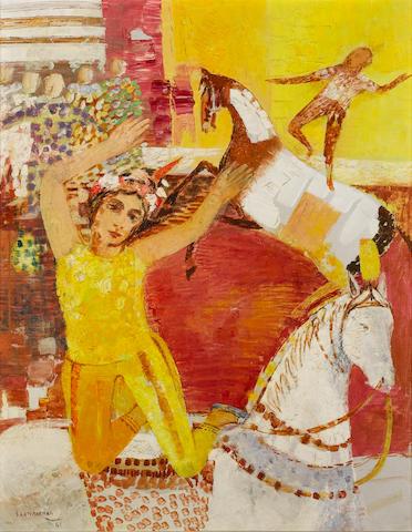Sakti Burman (India, b. 1935) Circus