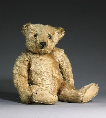 Rare centre seam Steiff Teddy bear, German circa 1909