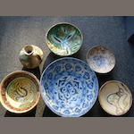 A collection of Islamic pottery Vessels (6)
