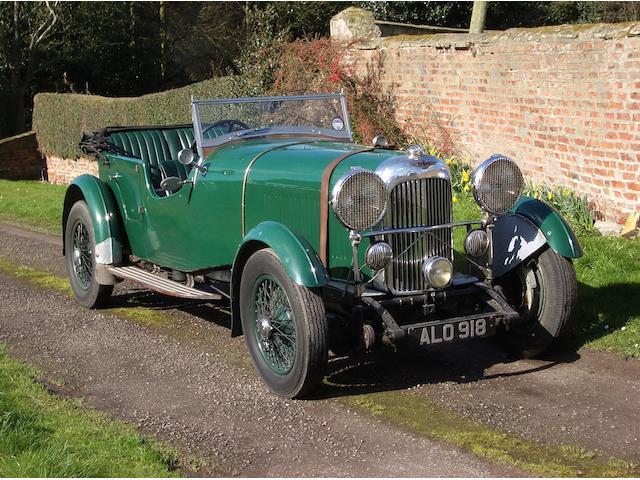 1933 Lagonda 16/80hp ST5 Four Seat Tourer  Chassis no. S10254 Engine no. 2002