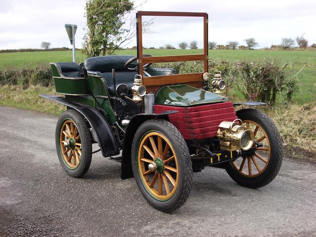 1902 Wolseley 10hp Twin-Cylinder Rear-Entrance Tonneau  Chassis no. 168