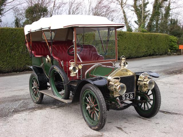 1909 Wolseley-Siddeley 14hp Four Seat Tourer  Chassis no. 6755 Engine no. 2532/14