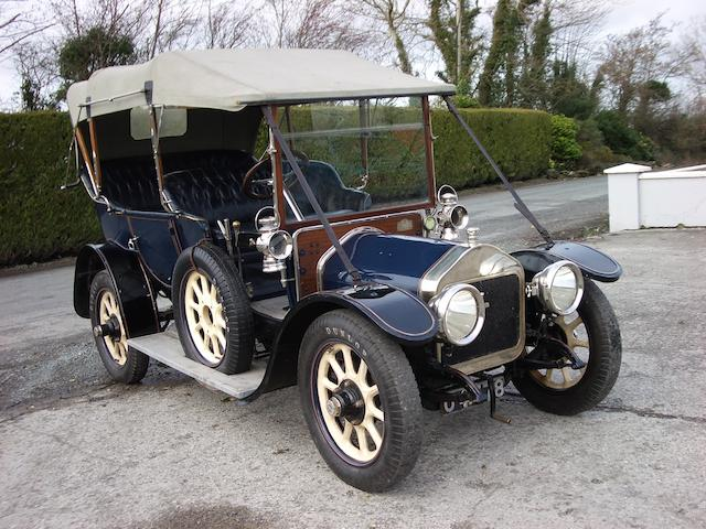 The ex Gore-Booth family,1910 Wolseley-Siddeley 16/20hp Rotonde Phaeton  Chassis no. 11019 Engine no. 37/447