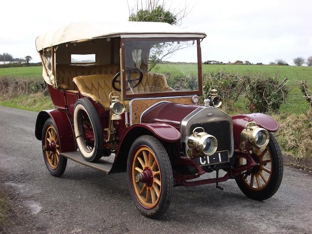 1910 Wolseley-Siddeley 16/20hp Tourer  Chassis no. 11013 Engine no. 40/447