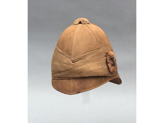 A Very Rare Officer's Foreign Service Helmet.