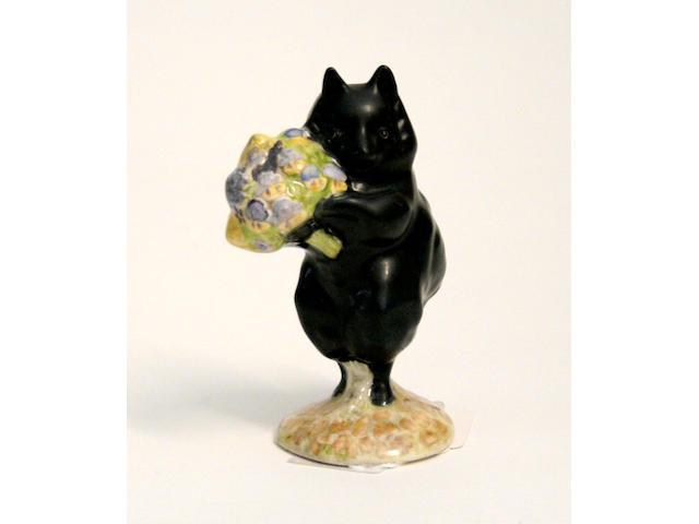 Beatrix Potter Duchess with Flowers, a rare Beswick Beatrix Potter figure