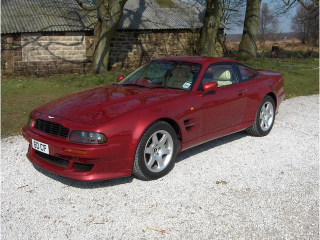 The ex-Earls Court Motor Show,1996 Aston Martin Vantage Coupé  Chassis no. SCFDAM2545BR70110 Engine no. 590/70110/M