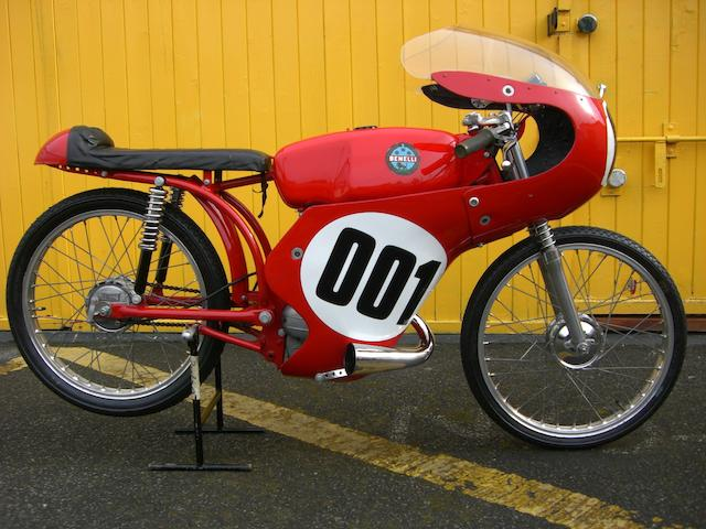 The ex-Ralph Bryans, Isle of Man TT,1962 Benelli 50cc Grand Prix Racing Motorcycle  Frame no. CE 71166 Engine no. C 74963