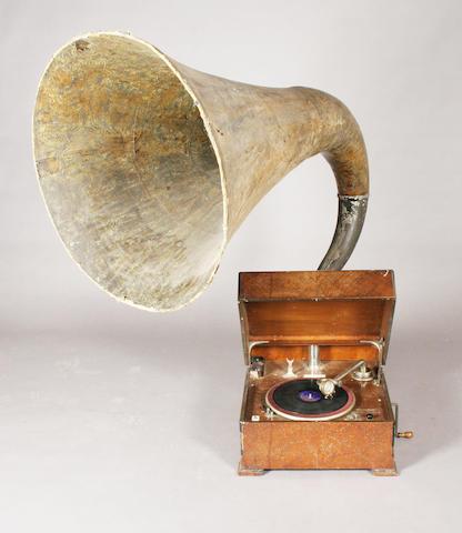 An EMG mark nine gramophone