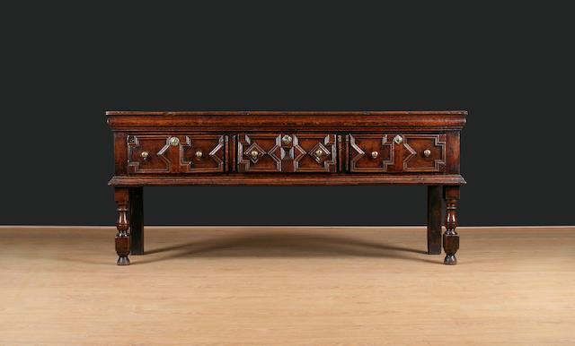 A good late 17th Century oak dresser