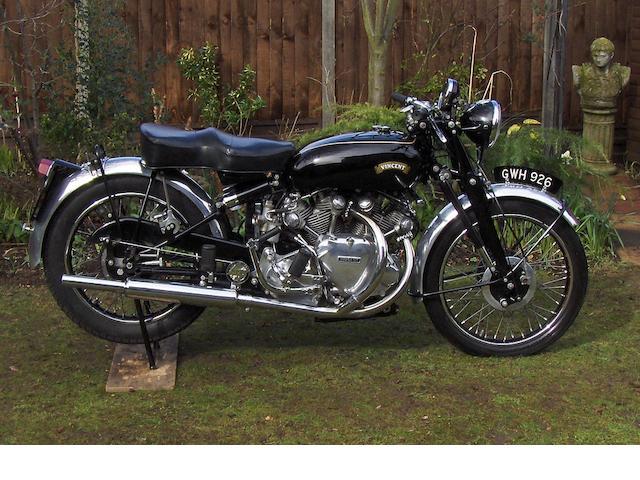 1954 Vincent 998cc White Shadow Series-C