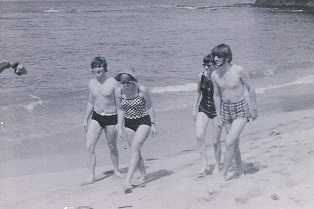 Unpublished photographs of John and Ringo on holiday in the Caribbean, January 1966,