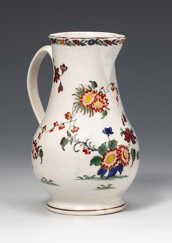 A Plymouth jug circa 1769-70