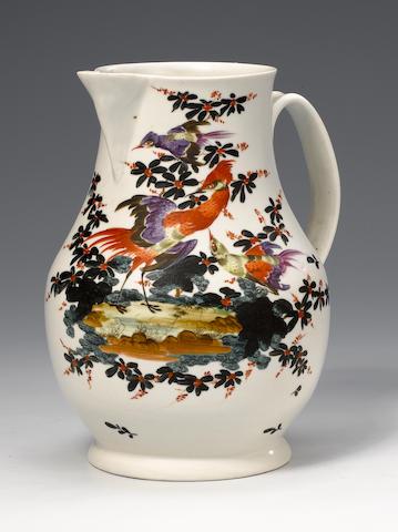 A Plymouth large jug circa 1769-70