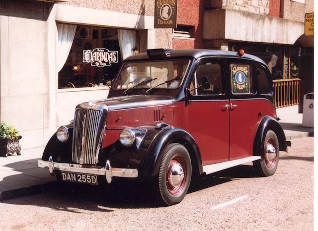 1966 Beardmore Mark VII 1,703cc  Hackney Carriage  Chassis no. BM7 3035MC
