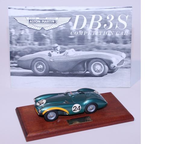 Creative Miniatures Associates – a hand built 1:24 scale white metal and resin limited model of DB3S/5,