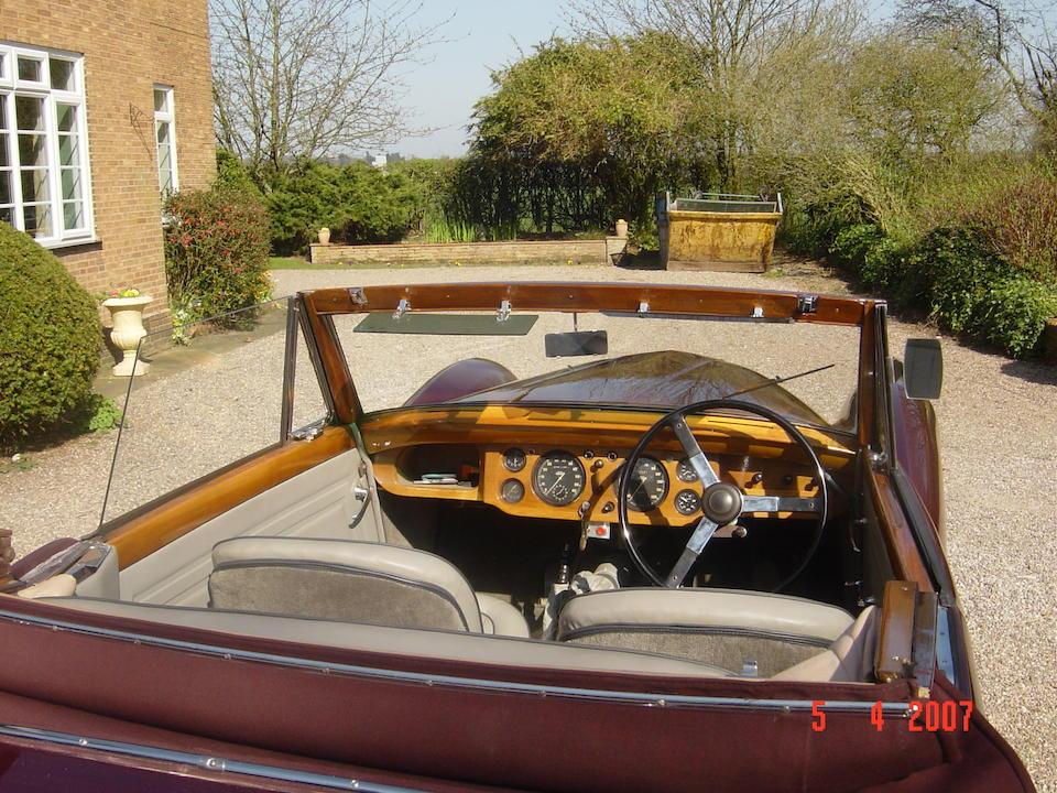 1951 Healey Abbott Drophead Coupé  Chassis no. C1899 Engine no. B5935