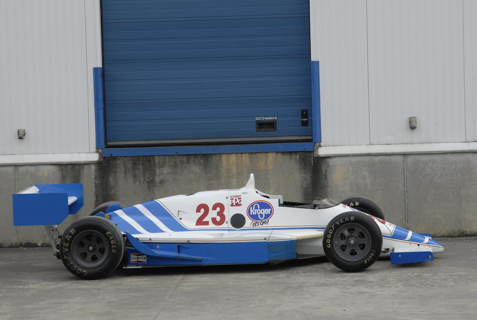 1987 March-Cosworth 87C Single-Seat Racing Indycar  Chassis no. 87C-12-06