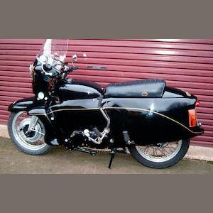 1955 Vincent 998cc 'Black Prince'
