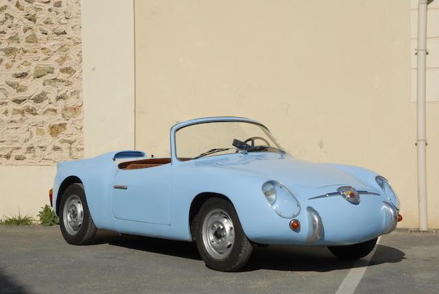 1958 FIAT-Abarth 750 Zagato Spider  Chassis no. 100.316814 Engine no. 214.1490
