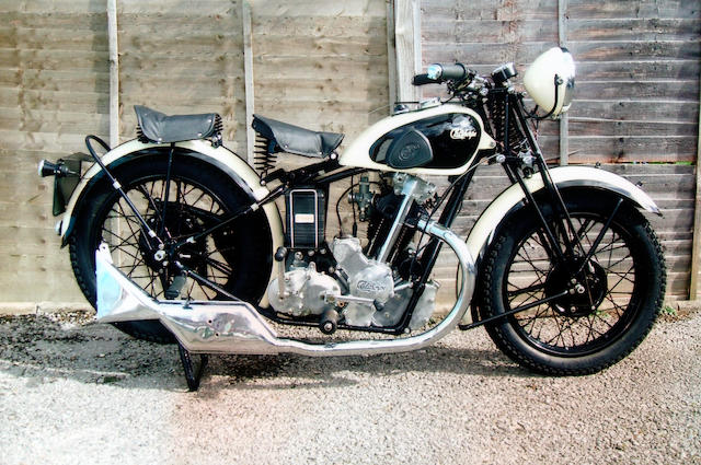 1935 Calthorpe 500cc Ivory Major