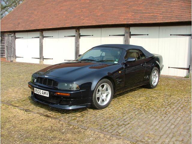 2000 Aston Martin SWB Vantage Volante Special Edition  Chassis no. SCFDAM2C2YBR71001 Engine no. 590/R/71001/M