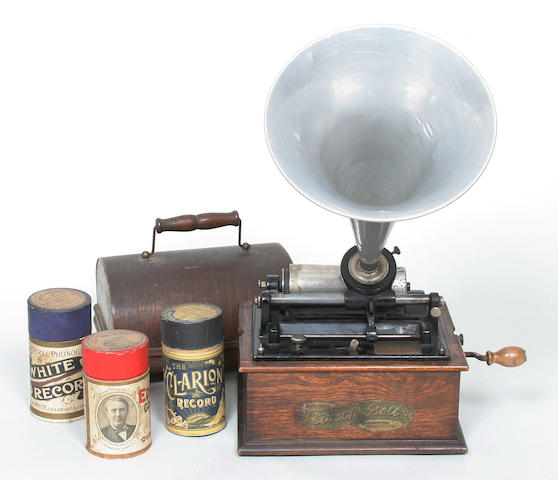 An Edison Bell phonograph