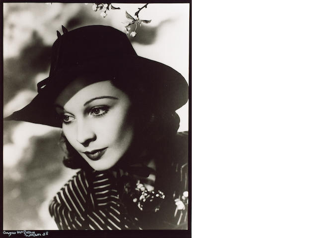 Angus McBean (1904-1990): Three photographic portraits of Vivien Leigh,
