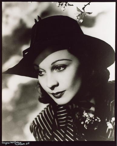Angus McBean (1904-1990): Three photographic portraits of Vivien Leigh,