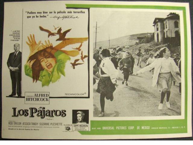 A collection of eighteen Mexican and Spanish lobby cards, titles including;